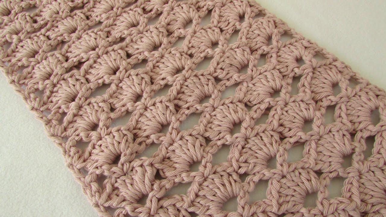 Pretty Crochet Scarf Pattern How To Crochet An Easy Lace Scarf For