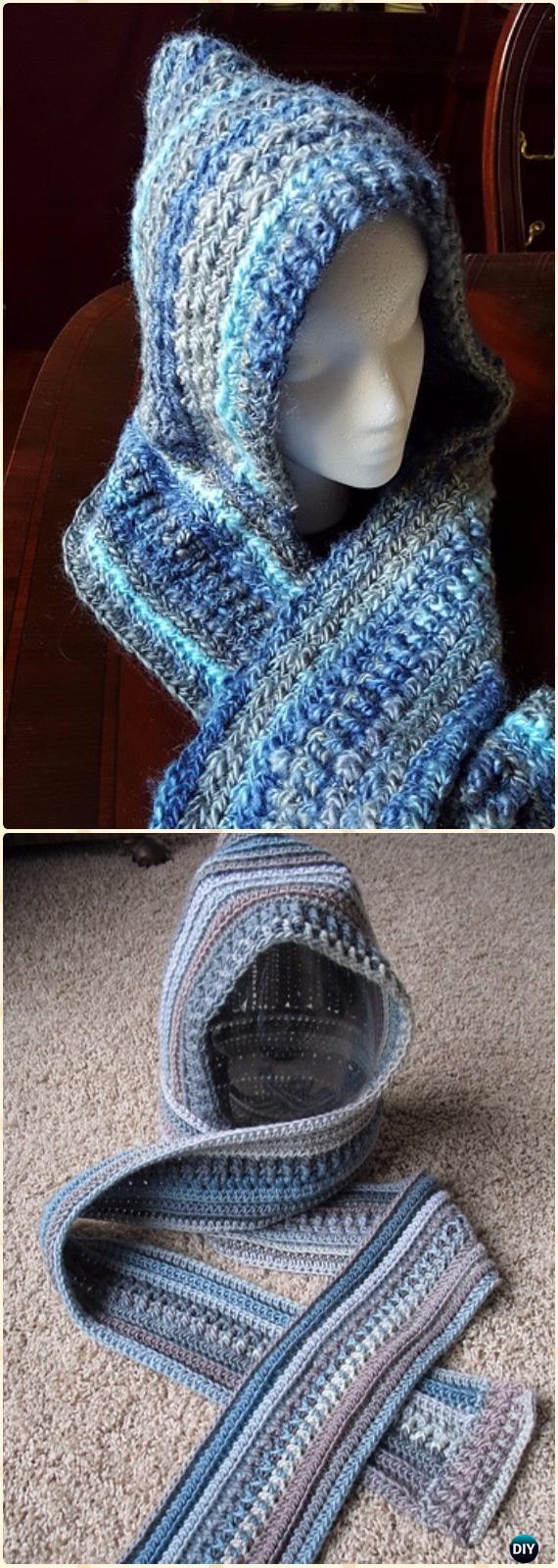 Scoodie Crochet Pattern Free Crochet Hoodie Scarf Scoodie ...